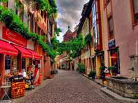 street in the old town - germany - m .....................