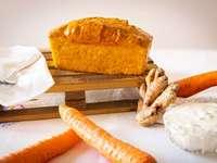 Pastel de zanahoria y jengibre