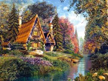 nice cottage by the river - nice cottage by the river
