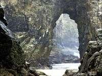 Perranporth Beach Sea Caves Cornwall - Perranporth Beach Sea Caves Cornwall
