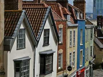 Bristol city in England - Bristol Colston Street city in England
