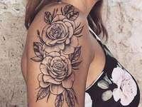 татуировка - жена