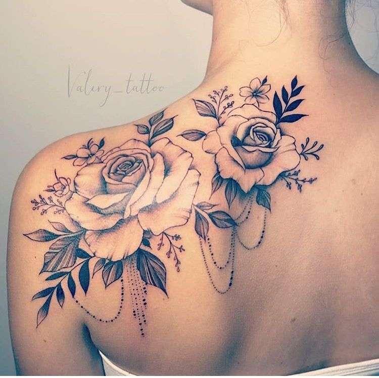 tatuaż wzór dla kobiety (9×9)