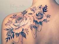 татуировка модел за жена