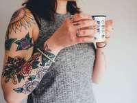 tatuaż wzór dla kobiety