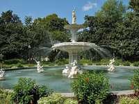 национален парк - барок - фонтан