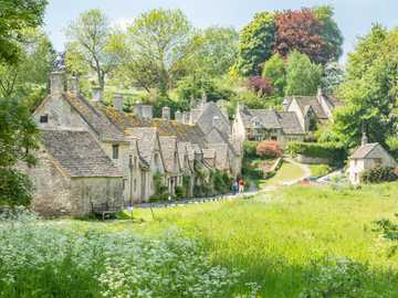 Cotswold Bibury in England