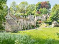 Cotswold Bibury in England - Cotswold Bibury in England