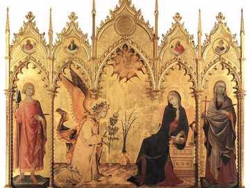 Renaissance - Trecento - Work for appreciation in art class
