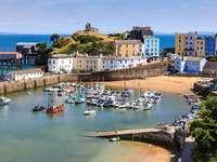 Tenby Pembrokeshire Wales, Anglia