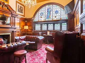 Liverpool Słynny pub Philharmonic Pub England - Liverpool Słynny pub Philharmonic Pub England