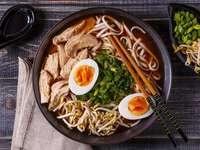 Ramen dish 1 - A delicious dish of ramen 1