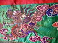 chiński haft...