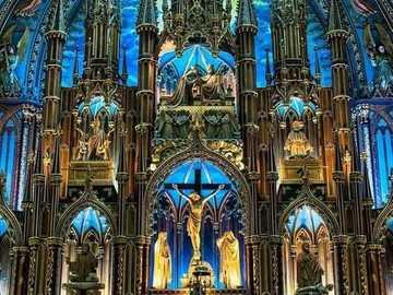 Notre Dame Basilica, Montreal, Quebec, Canada - Notre Dame Basilica, Montreal, Quebec, Canada