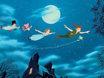 Peter pan and wendy - I solve the Peter pan and wendy puzzle so that everyone knows the characters