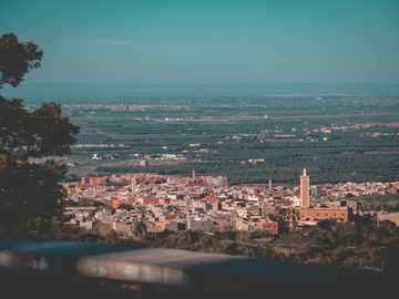 lost in the wilderness at Beni Mellal - aerial photography of cityscape during daytime.