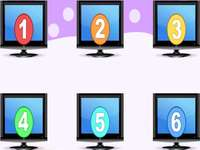 šest televizorů - lmnopqrstuvwxyzlmnop