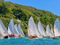 Salcombe Sailing Devon England