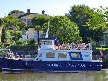 Linia statków Salcombe do Kingsbridge Devon - Linia statków Salcombe do Kingsbridge Devon