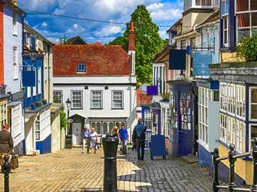 Lymington Hampshire England - Lymington Hampshire England