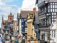 Chester Városközpont Észak-Wales