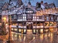 Chester Észak-Wales karácsonykor