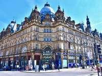 El centro de la ciudad de Leeds, Inglaterra - El centro de la ciudad de Leeds, Inglaterra