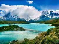 chile- lake view - m ...................