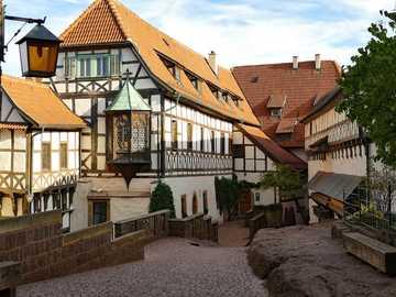 Wartburg - german castle -----------