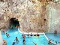 hungary- tapolca- rock baths - m ....................