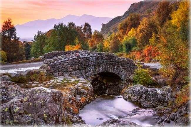 Lake District Англия пъзел