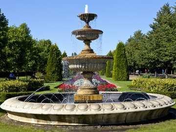 London Regents Park - London Regents Park fountain