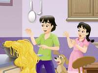 Der Zaubertopf - der magische Spaghettitopf für Kinder