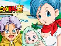 the baby is braa - the baby is braa the daughter of vegeta and bulma and of course the younger sister of trunks