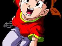 she is bread - she is pan the daughter of gohan and videl is half sayayin and half human