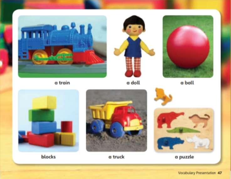 Meus brinquedos - Kids A
