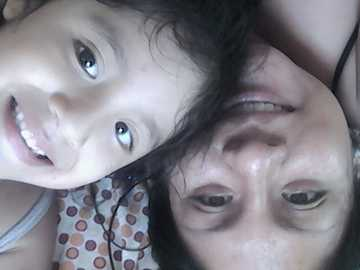 Vianka et Diana - heureux souriant comme toujours