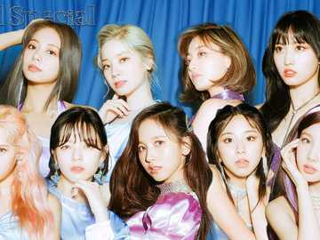 Twice feel special blue - Twice feel special blue photoshoot