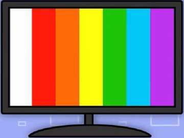 Es ist für das Fernsehen - lmnopqrstuvwxyzlmnop