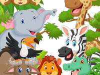 jungle animals - discover the animals that are in the jungle, there are several