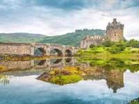 Castelo Eilean Donan na Escócia