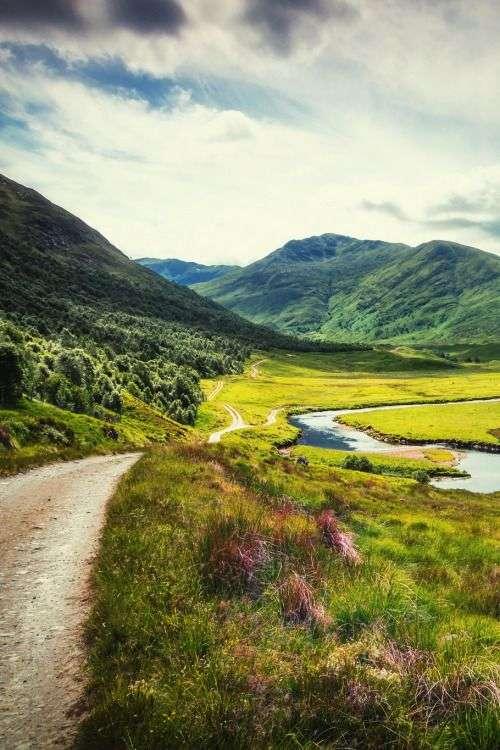 Glen Affric w Szkocji