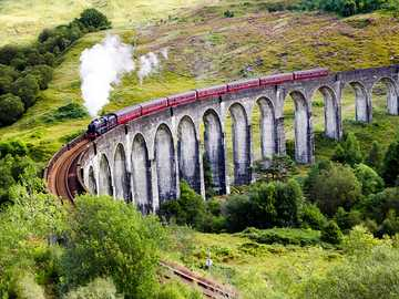 Glenfinnan Viaduct Scotland - Glenfinnan Viaduct Scotland