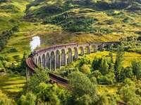 Viadotto di Glenfinnan in Scozia