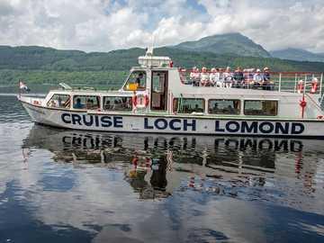 Statek Loch Lomond Scotland - Statek Loch Lomond Scotland