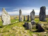 Hebrides Isle of Lewis álló kövek