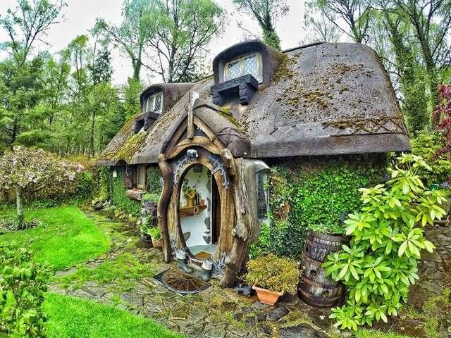 Casa Hobbit na Escócia