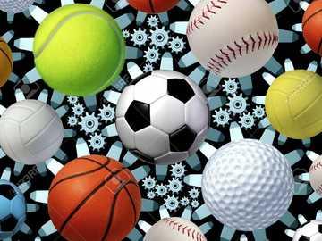 Αθλητισμός - Συναρμολογήστε το παζλ στο συντομότερο δυνατό χρόνο