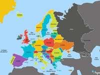 paesi europei - Identificare la posizione geografica dei paesi dell'Europa