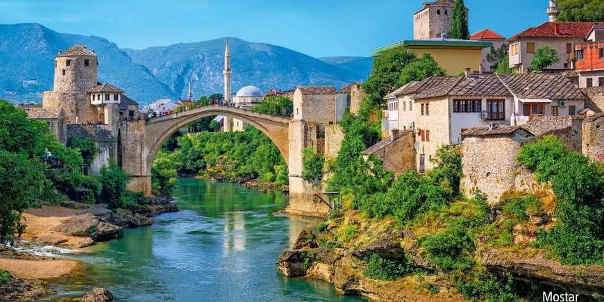 Kroatië - Slovenië - Bosnië en Herzegovina
